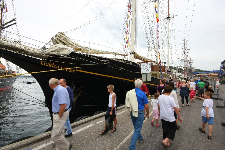 Tall ship races i Kristiansand 2010